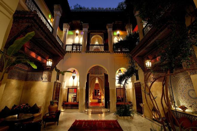 里亚德萨法尔庭院旅馆 - 马拉喀什 - 建筑