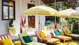 玛玛庇护所里约热内卢酒店 - 里约热内卢 - 露台