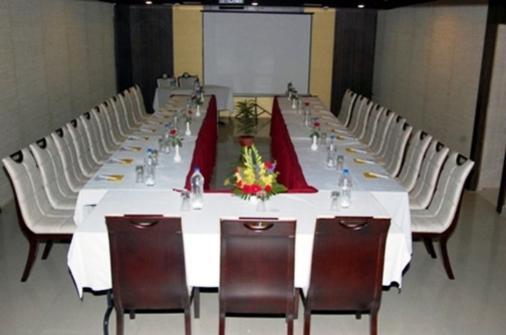 大陆酒店 - 勒克瑙 - 会议室