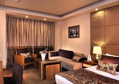 维萨亚酒店 - 新德里 - 睡房