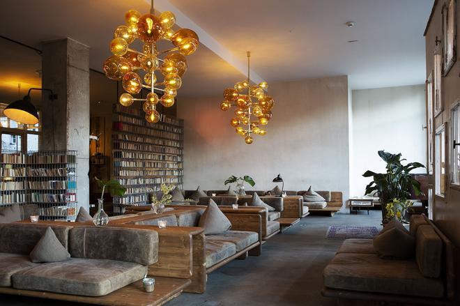 米歇尔贝格尔酒店 - 柏林 - 休息厅