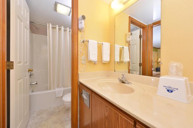毛米托莱多美洲最佳价值酒店 - 莫米 - 浴室