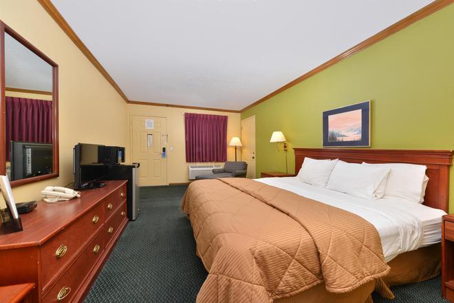 毛米托莱多美洲最佳价值酒店 - 莫米 - 睡房
