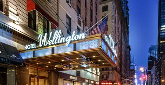 纽约城惠灵顿酒店 - 纽约 - 建筑