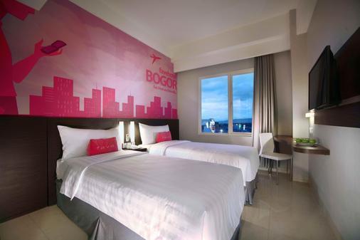 茂物帕德加加兰法维酒店 - 茂物 - 睡房