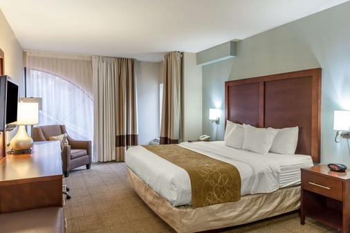 海洋城康福特套房酒店 - 大洋城 - 睡房