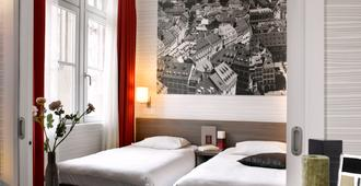 阿达吉奥斯塔伯格广场克雷贝城市公寓酒店 - 斯特拉斯堡 - 睡房