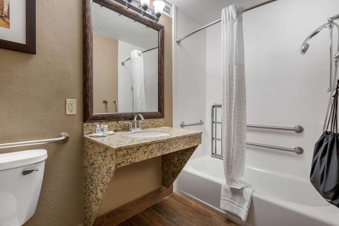 舒适套房酒店 - 斯普林菲尔德 - 浴室