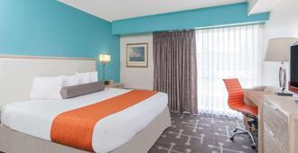 米斯蒂克霍华德约翰逊酒店 - 米斯蒂克 - 睡房
