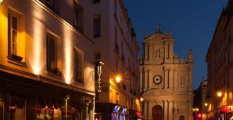 圣保罗马莱酒店 - 巴黎 - 建筑