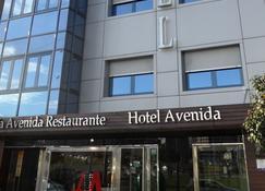 阿文尼达酒店 - 庞特维德拉 - 建筑