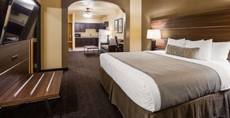 加山国家套房圣安东尼奥贝斯特韦斯特酒店 - 圣安东尼奥 - 睡房
