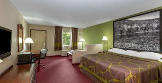 尤里卡泉温德姆速 8 酒店 - 尤里卡斯普林斯 - 睡房