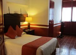 卡斯特尔玛酒店 - 坎佩切 - 睡房