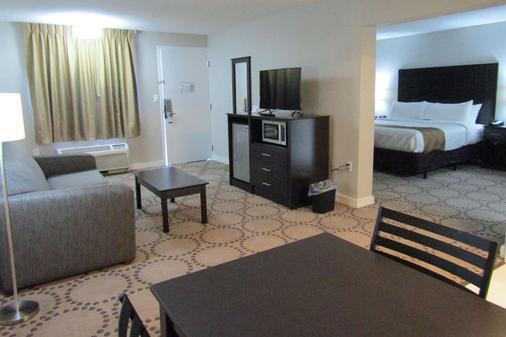 湖畔品质酒店 - 基西米 - 客厅