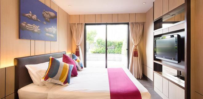 挪亚方舟度假酒店 - 香港 - 睡房