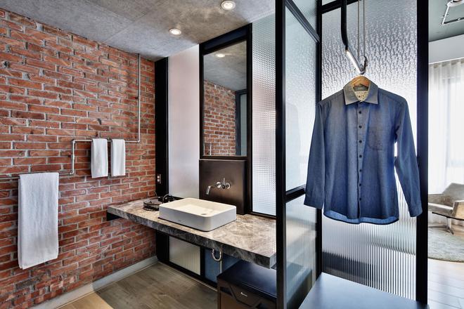 友爱街旅馆 - 台南 - 浴室