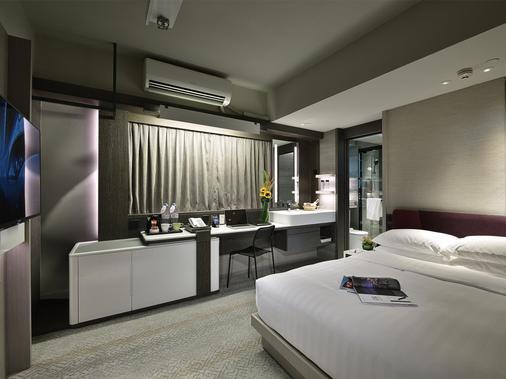 棉登酒店 - 香港 - 睡房
