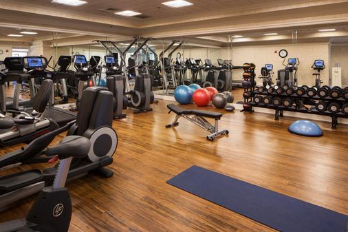 华盛顿杜克高尔夫俱乐部旅馆 - 达拉姆 - 健身房