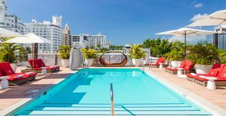 瑞德贝瑞南海滩酒店 - 迈阿密海滩 - 游泳池