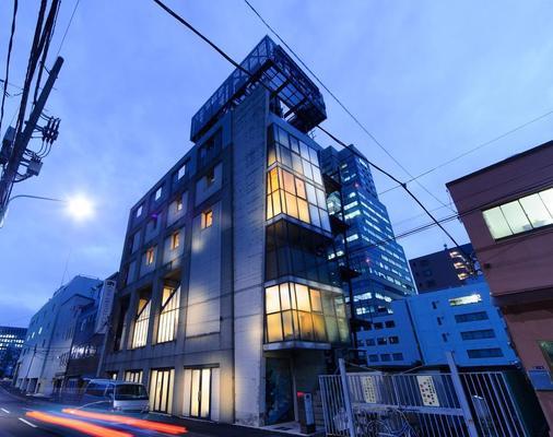 橡树胶囊旅馆 - 东京 - 建筑