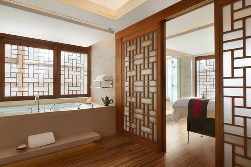 温哥华香格里拉大酒店 - 温哥华 - 浴室