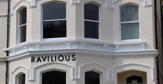 拉维琉斯住宿加早餐旅馆 - 伊斯特布恩 - 建筑