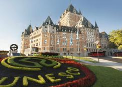 费尔蒙特莱沙托夫隆特纳克酒店 - 魁北克市 - 客厅