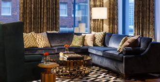 摩纳哥匹兹堡金普顿酒店 - 匹兹堡 - 客厅