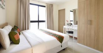 普里马地方酒店 - 曼谷 - 睡房