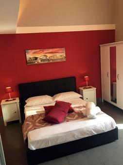 但丁和比阿特丽斯住宿加早餐旅馆 - 那不勒斯 - 睡房
