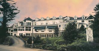 镜湖度假&spa酒店 - 普莱西德湖 - 建筑