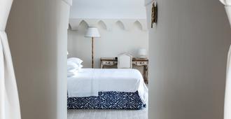 梅萨托雷酒店 & 温泉 SPA - 伊斯基亚 - 睡房