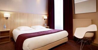 兰斯中心基里亚德水疗酒店 - 兰斯 - 睡房