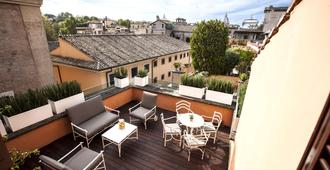 多姆酒店(首选酒店及度假村) - 罗马 - 阳台