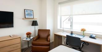 大学城学习酒店 - 费城 - 睡房
