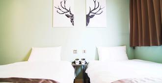 台中博客创意旅店 - 台中 - 睡房
