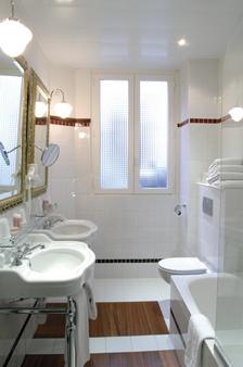 贝斯特韦斯特普雷米尔特洛加德洛拉图尔酒店 - 巴黎 - 浴室