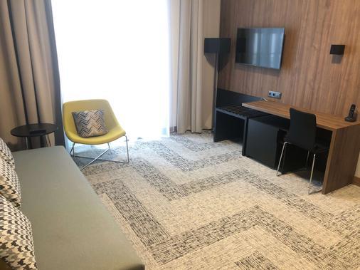 长广场 IBB 酒店 - 格但斯克 - 睡房