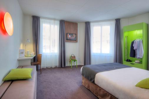 钟楼阿纳西中心酒店 - 火车站 - 安纳西 - 睡房