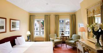 马丁斯拉列斯酒店 - 布鲁日 - 睡房