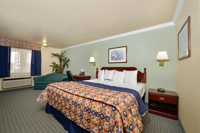 休斯敦霍比机场美洲最佳价值酒店 - 休斯顿 - 睡房