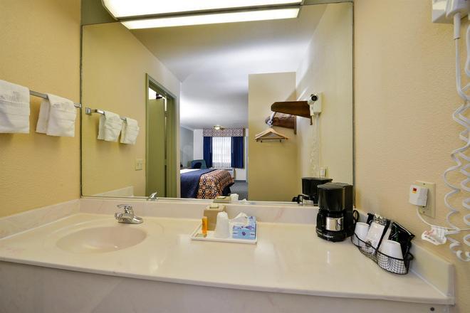 休斯敦霍比机场美洲最佳价值酒店 - 休斯顿 - 浴室