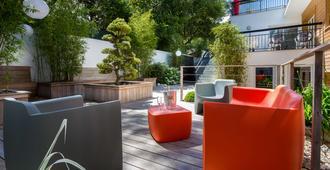 花园和Spa贝斯特韦斯特酒店 - 拉波勒 - 露台