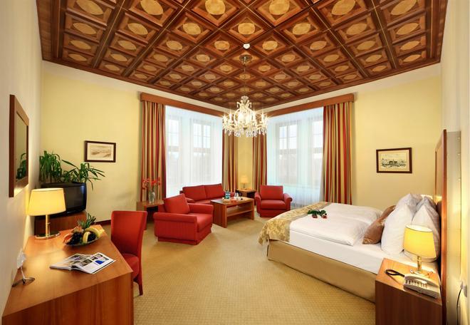 布尔诺大酒店 - 布尔诺 - 睡房