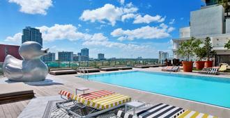 布里克尔sls酒店 - 迈阿密 - 游泳池