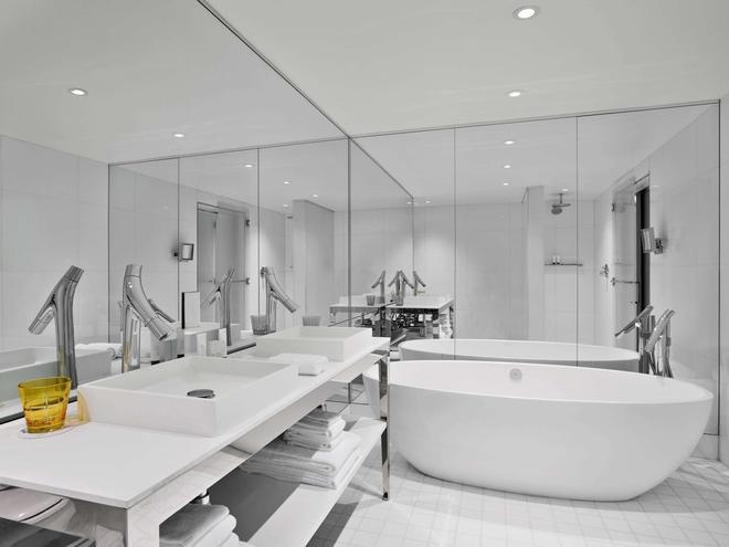 布里克尔sls酒店 - 迈阿密 - 浴室