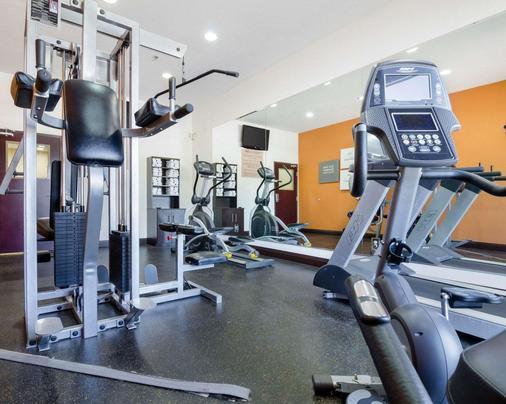 Comfort Suites - 托皮卡 - 健身房