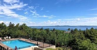 Atlantic Eyrie Lodge - 巴港 - 游泳池