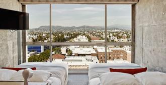 岚酒店 - 洛杉矶 - 睡房